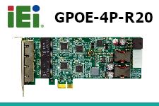 iEi GPOE-4P-R20