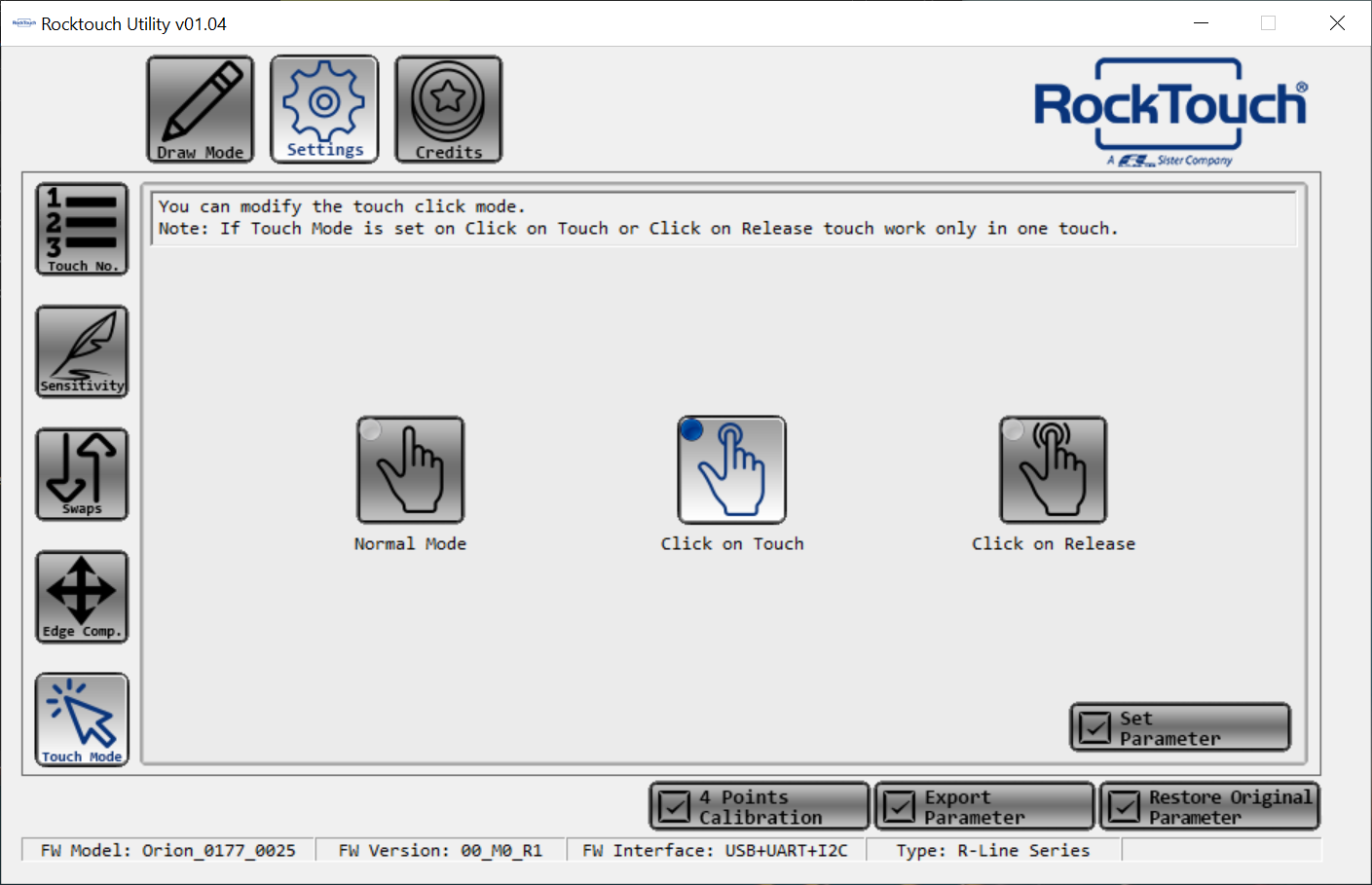 """WYSIWYG - Rocktouch utility ver 01.04 """"Touch Mode."""".png"""