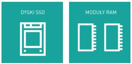 Dyski SSD i pamięci RAM